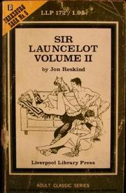 Cover of: Sir Lancelot Volume 2 |