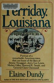 Cover of: Ferriday, Louisiana | Elaine Dundy
