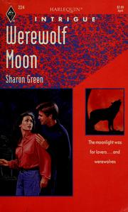 Cover of: Werewolf Moon | Sharon Green