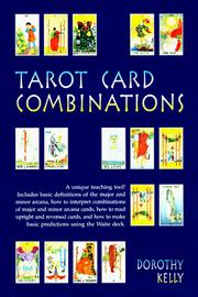 Cover of: Tarot card combinations