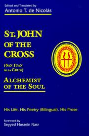 Cover of: St. John of the Cross