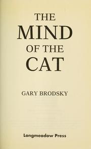 Cover of: Mind of the Cat | Gary Brodsky