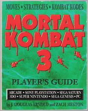 Cover of: Mortal Kombat 3: Player's Guide