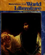 Cover of: Masterpieces from world literature |