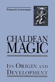 Cover of: Chaldean magic | Francois Lenormant