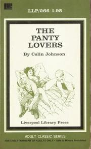 The Panty Lovers by Colin Johnson
