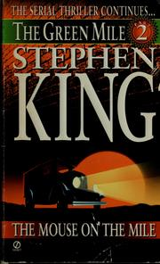 Cover of: The Green Mile Part 2 The Mouse on the Mile | Stephen King