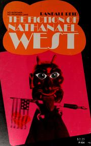 Cover of: The fiction of Nathanael West | Randall Reid