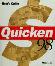 Cover of: Quicken user