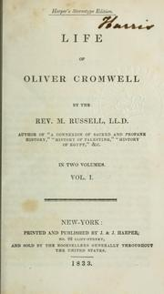Cover of: Life of Oliver Cromwell | Russell, Michael