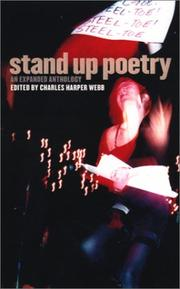 Stand Up Poetry by Charles Harper Webb