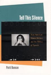Tell this silence by Patti Duncan