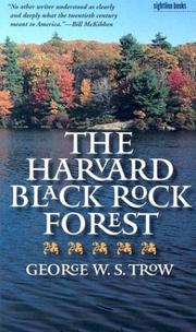 Cover of: The Harvard Black Rock Forest (Sightline Books)