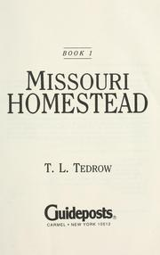 Missouri Homestead
