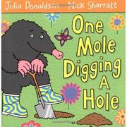 Cover of: One Mole Digging A Hole