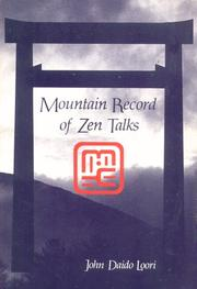 Cover of: Mountain record of Zen talks