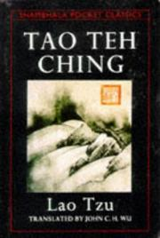 Cover of: Tao Teh Ching