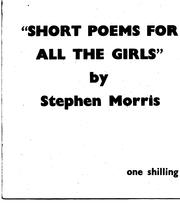 Cover of: Short poems for all the girls