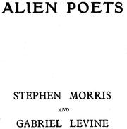 Cover of: Alien poets