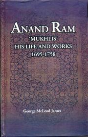 Cover of: Anand Ram Mukhlis