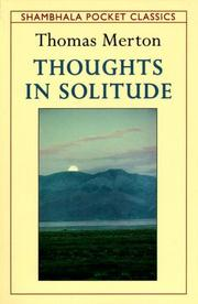 Cover of: Thoughts in solitude