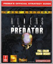 Cover of: Aliens versus Predator: Gold Edition