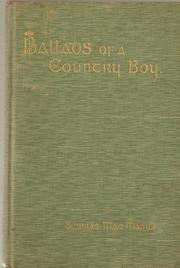 Cover of: Ballads of a country-boy