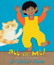 Cover of: All of me!: a book of thanks
