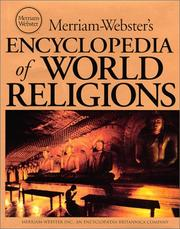 Cover of: Merriam-Webster's Encyclopedia of World Religions |