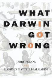 Cover of: What Darwin got wrong by Jerry A. Fodor