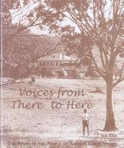 Cover of: Voices from there to here | Ian Ellis