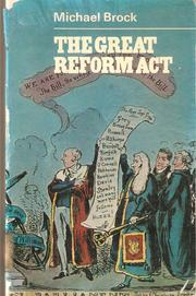 Cover of: The Great Reform Act