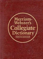 Cover of: Merriam-Webster's collegiate dictionary |