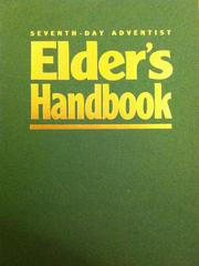 Cover of: Seventh-Day Adventist Elder's Handbook by