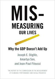 Cover of: Mismeasuring our lives