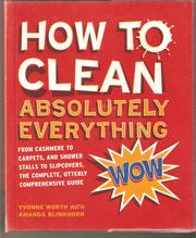 Cover of: How to Clean Absolutely Everything