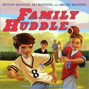Family huddle by Archie Manning
