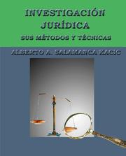 Cover of: INVESTIGACIÓN JURÍDICA by