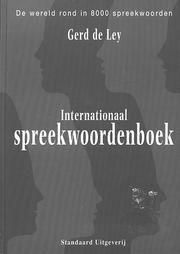 Internationaal spreekwoordenboek by Gerd de Ley