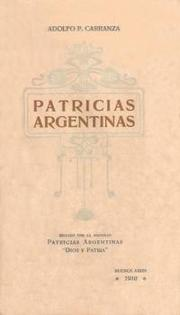 Cover of: Patricias argentinas