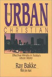 Cover of: The urban Christian