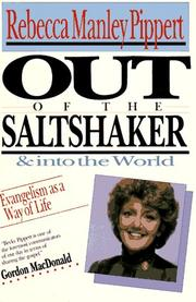 Cover of: Out Of The Saltshaker And Into The World