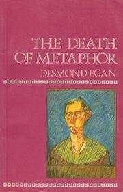 Cover of: The death of metaphor