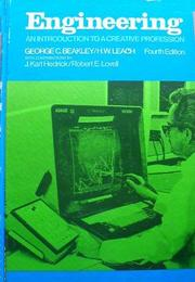 Engineering by George C. Beakley, George C. Beakley