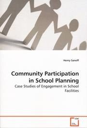 Cover of: Community Participation in School Planning
