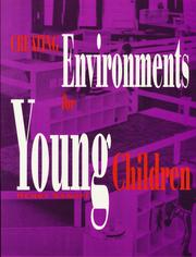 Cover of: Creating environments for young children