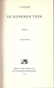 Cover of: De koperen tuin