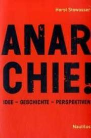 Cover of: Anarchie! |