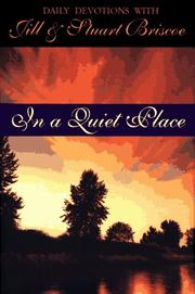 Cover of: In a quiet place | Jill Briscoe