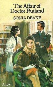 Cover of: The Affair of Doctor Rutland